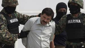 "Joaquín ""El Chapo"" Guzmán was arrested on February 22 Photo from Google Images"