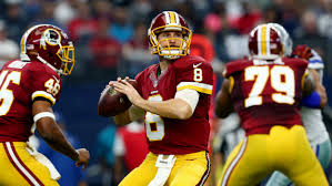 Quarterback Kirk Cousins led the Redskins to a 9-7 record and a playoff appearance