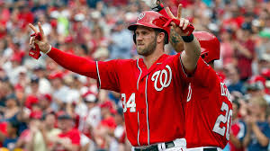 Bryce Harper, last year's National League MVP, has considered leaving the Washington Nationals