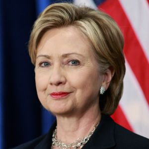 Democrat Hillary Clinton could become the first female president of the United States of America