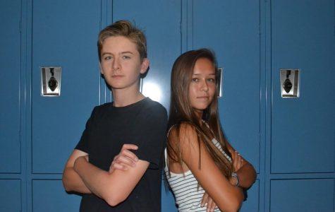 Claire Kuwana and Jack Cline