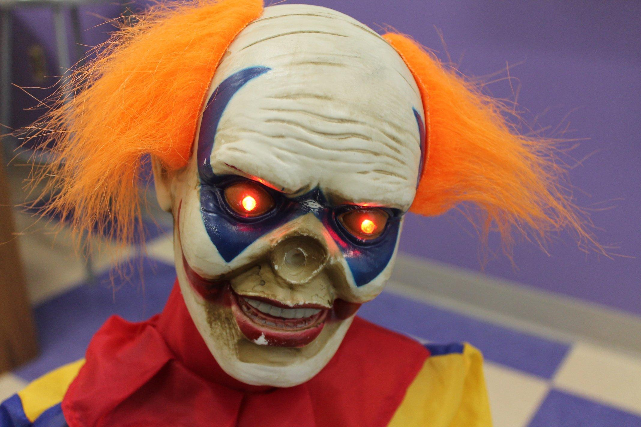 Lots of people were scared of clowns being seen in their towns