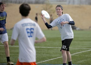 Jonny Malks makes a pass to his teammate. Photo Courtesy of Jamey Bowers