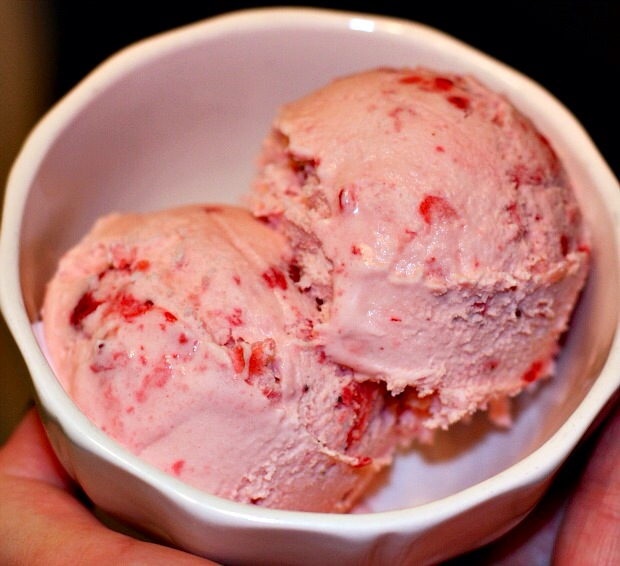 Strawberry-Buttermilk Sherbet