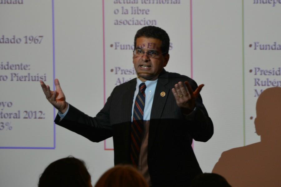 Resident Commissioner Pedro Pierluisi Presents Puerto Rico