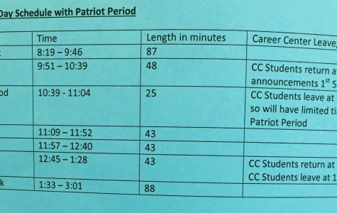 A Schedule to Fit Student Needs