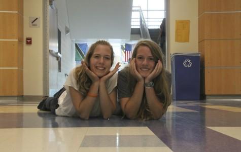 Emily Calvert and Natalie Poole