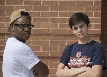 Jackson Cummings and Kyle Mayo-Blake