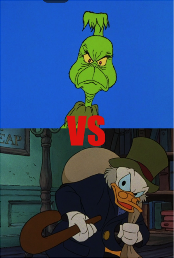 Who is the better Christmas grouch? Scrooge or The Grinch