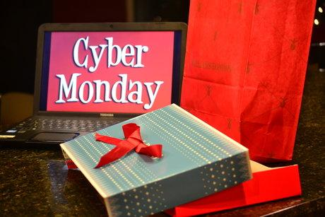 Cyber Monday allows Christmas shoppers to buy their gifts online in the comfort of their own home