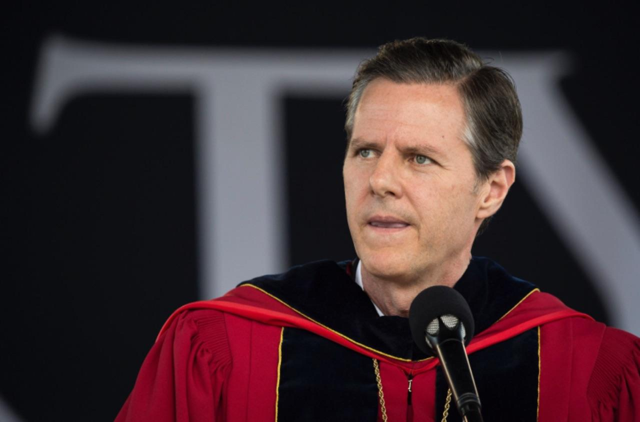 Liberty University President Jerry Falwell Jr. is encouraging students to carry guns on campus for self-defense