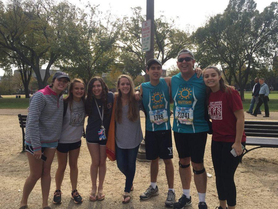 Will Waddell ran in the 41st Marine Corps Marathon