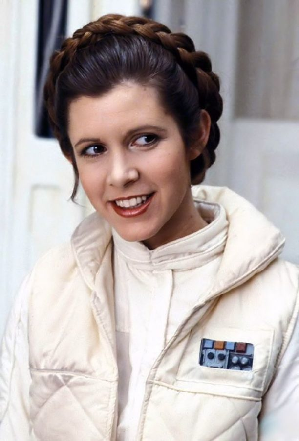 Actress Carrie Fisher died in the final days of 2016
