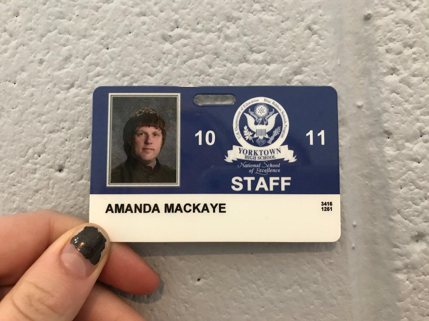 Ms. MacKaye is known for her humor and kindness