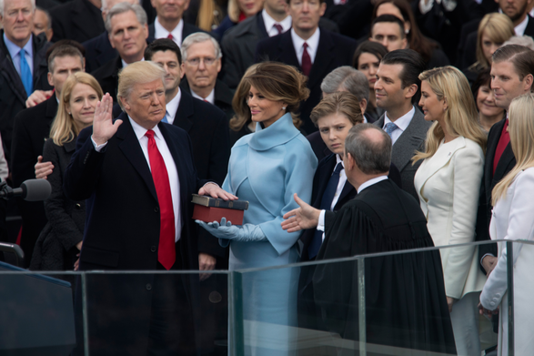 President Trump's inauguration speech had various reactions from the public