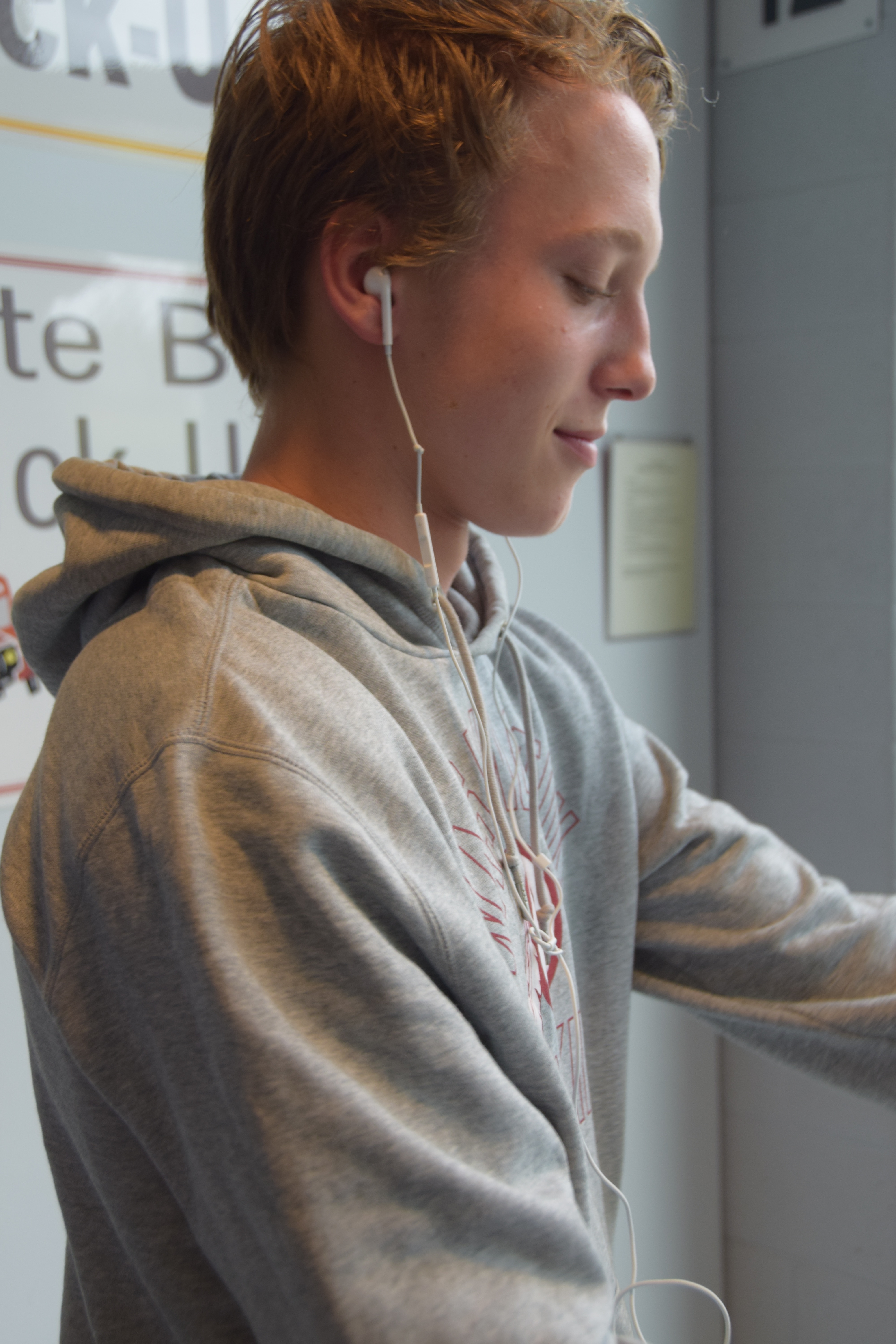 People listen to every different genres between classes
