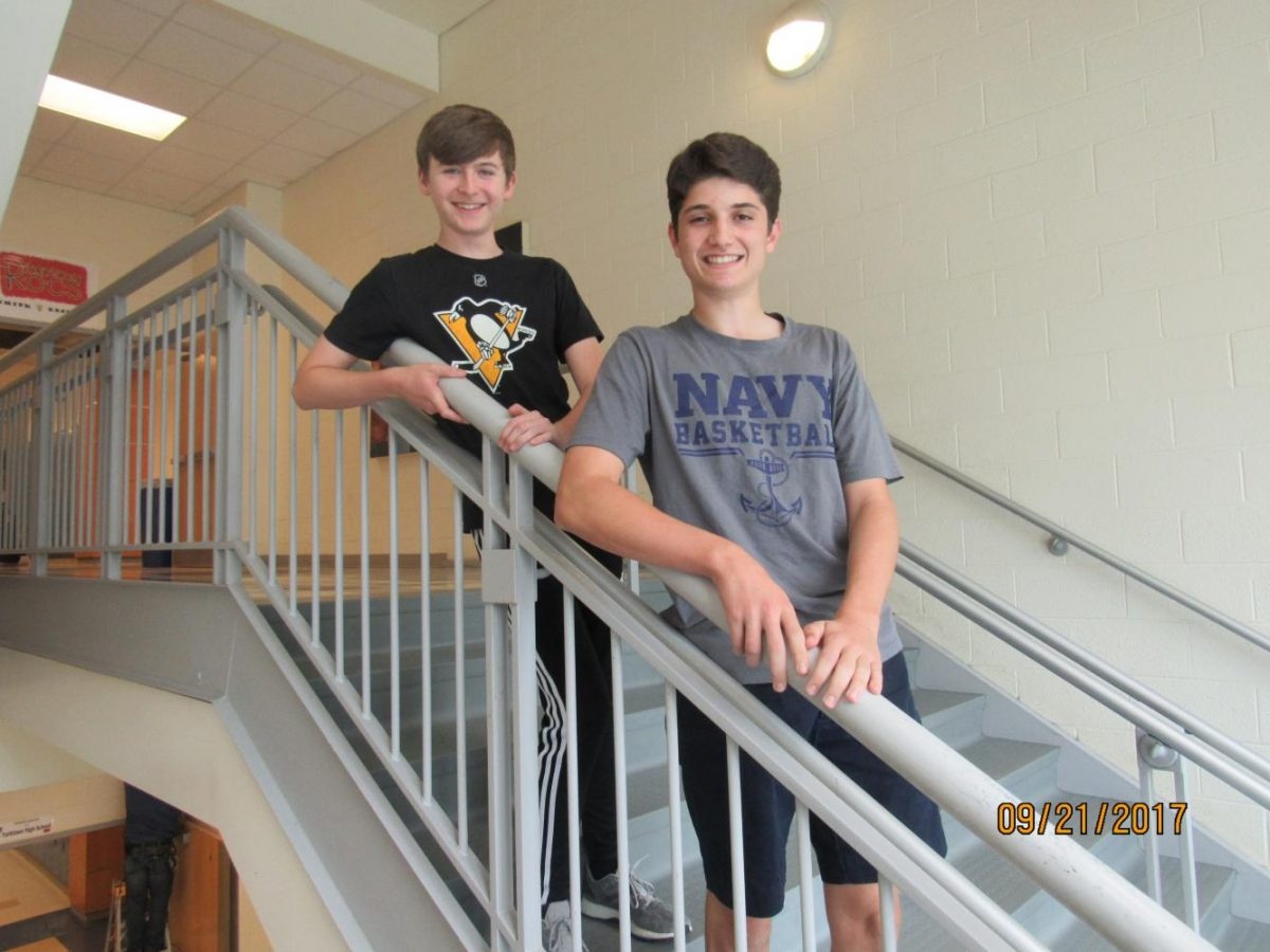 Matthew Cornfield and Jack Cline