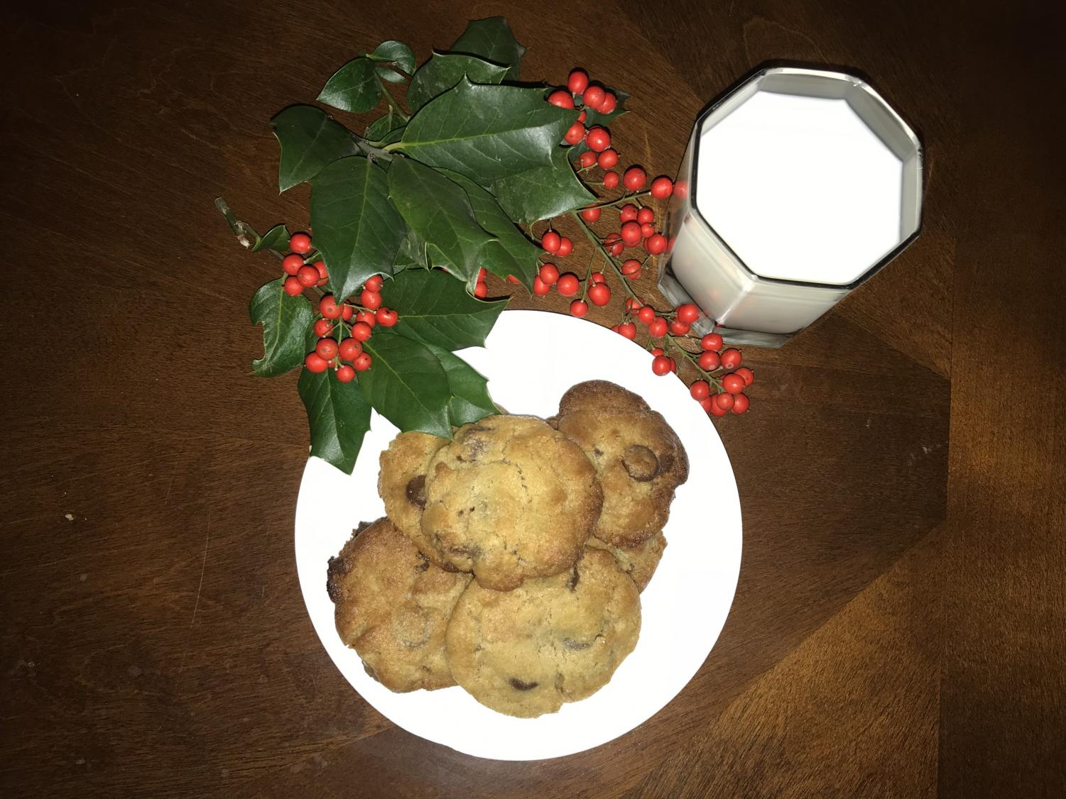Most people believe that the only snack one can give to Santa Claus consists of cookies and a glass of milk.