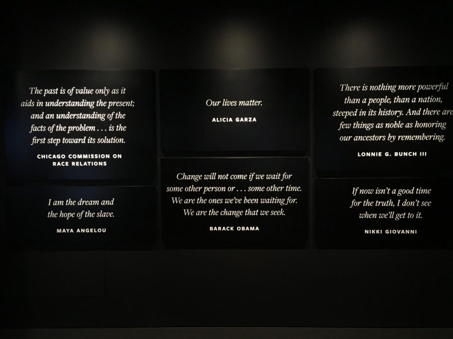 Within the The National Museum of African American History and Culture, there was a separate room dedicated to Till.