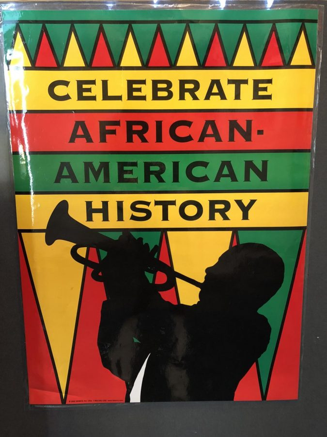 Many+students+and+teachers+have+come+together+in+order+to+recognize+Black+History+Month+within+the+school.