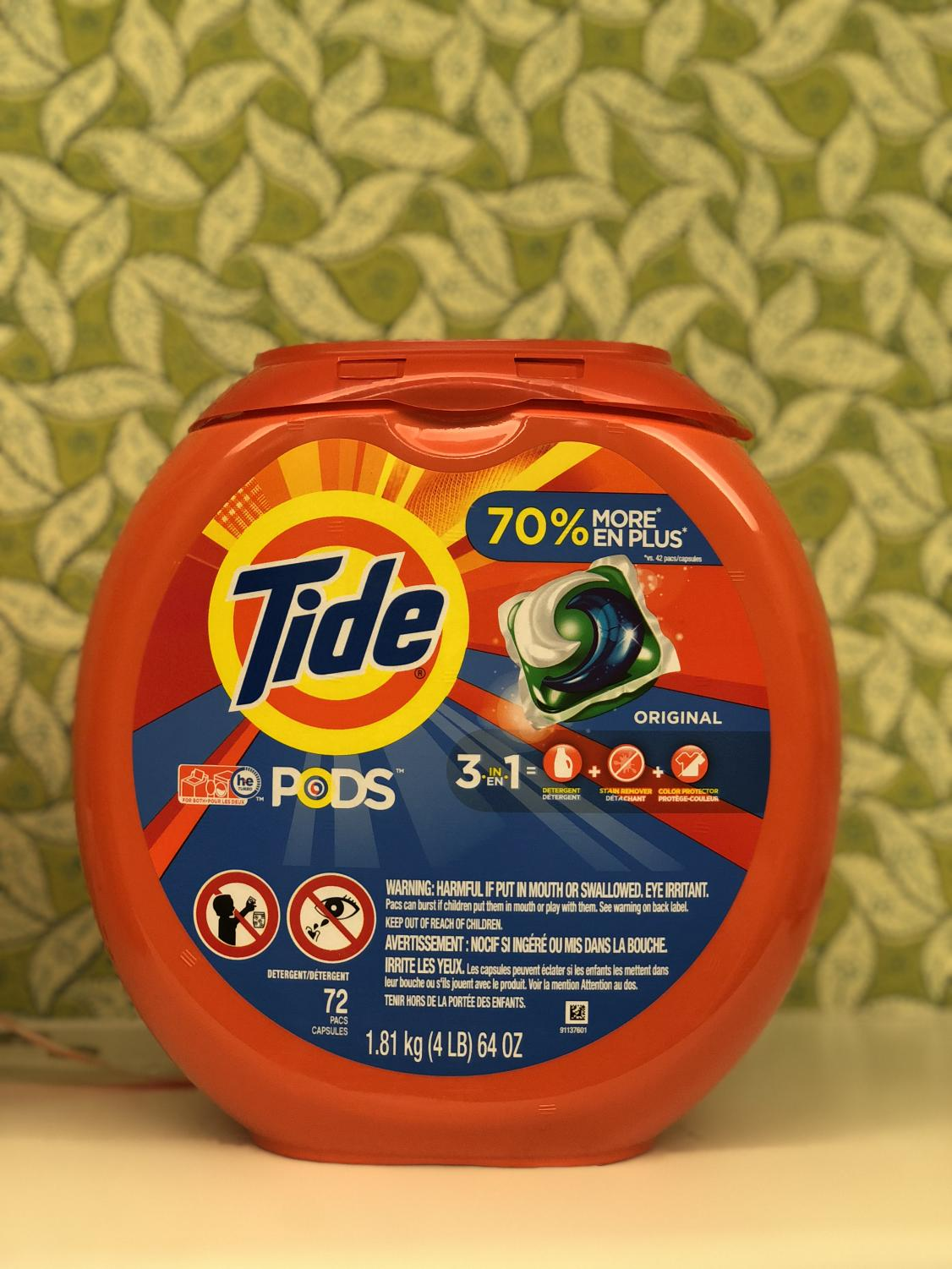 The Tide ads, while funny, did not address some of the problems associated with using their products.
