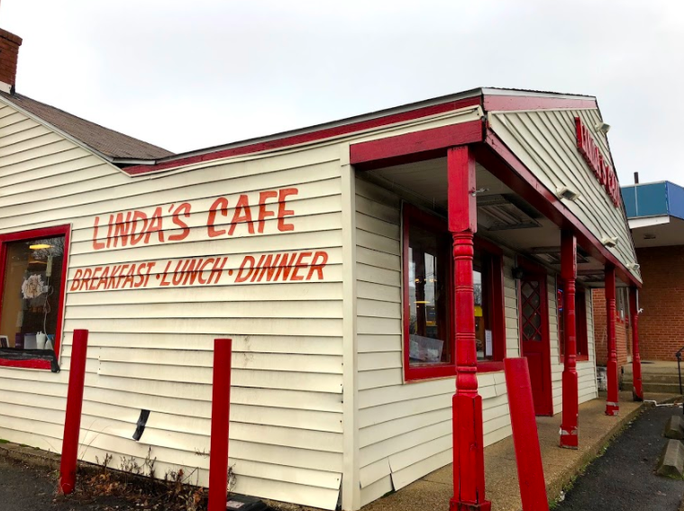 Linda's Cafe is a small, greasy-spoon type restaurant best known for their low-cost, standard breakfast menu.