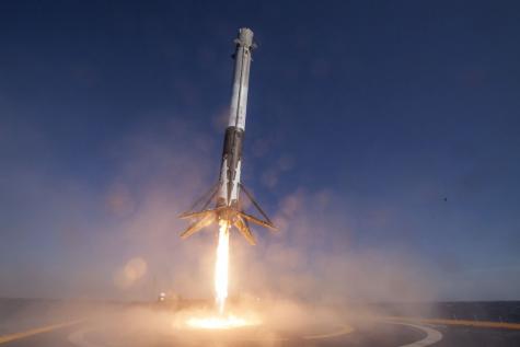 Falcon Heavy Takes Flight