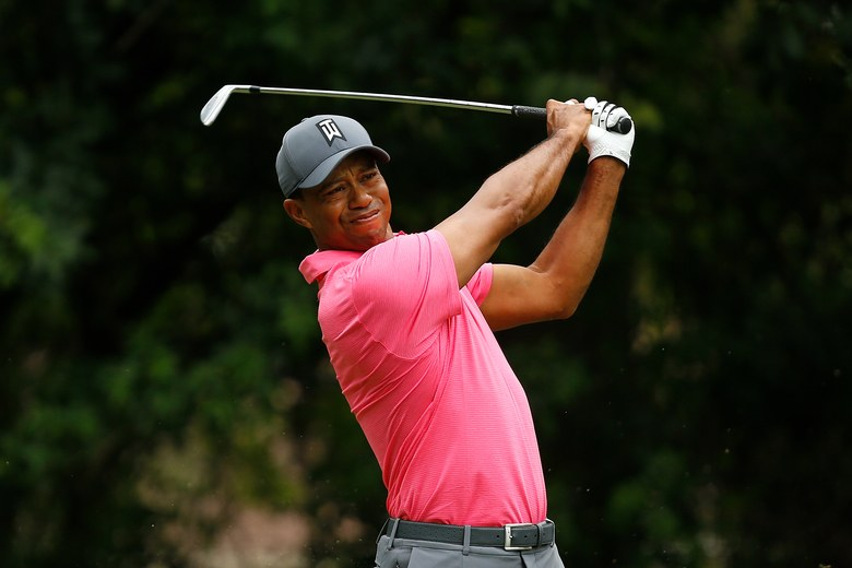 Through six PGA tour events this year, Tiger Woods has placed top 10 in three, and already has a scoring average under 70.