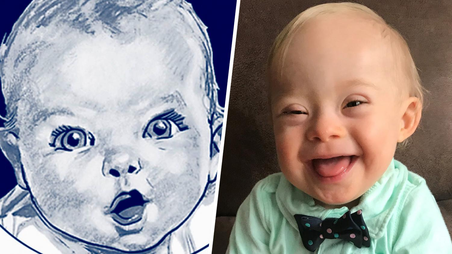 This year's Gerber baby photo choice is especially significant because the 2018 baby is the first with down syndrome.