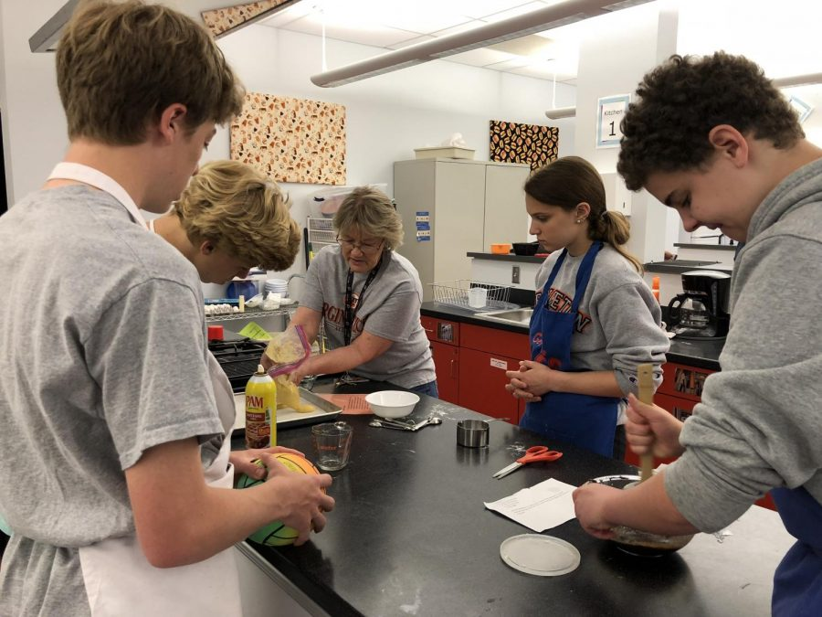In Food and Fitness, teachers Rosemary Molle and Zahra Castellano teach students the fundamental skills they need to work and be healthy in the kitchen.