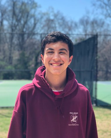 Billy Blake has been on the boy's varsity soccer team for three seasons and was selected for the Washington Post All-Met team as a sophomore.