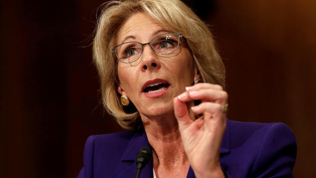 The+current+United+States+Secretary+of+Education+Betsy+DeVos+has+found+herself+under+fire+for+a+variety+of+her+policies+and+career+goals.