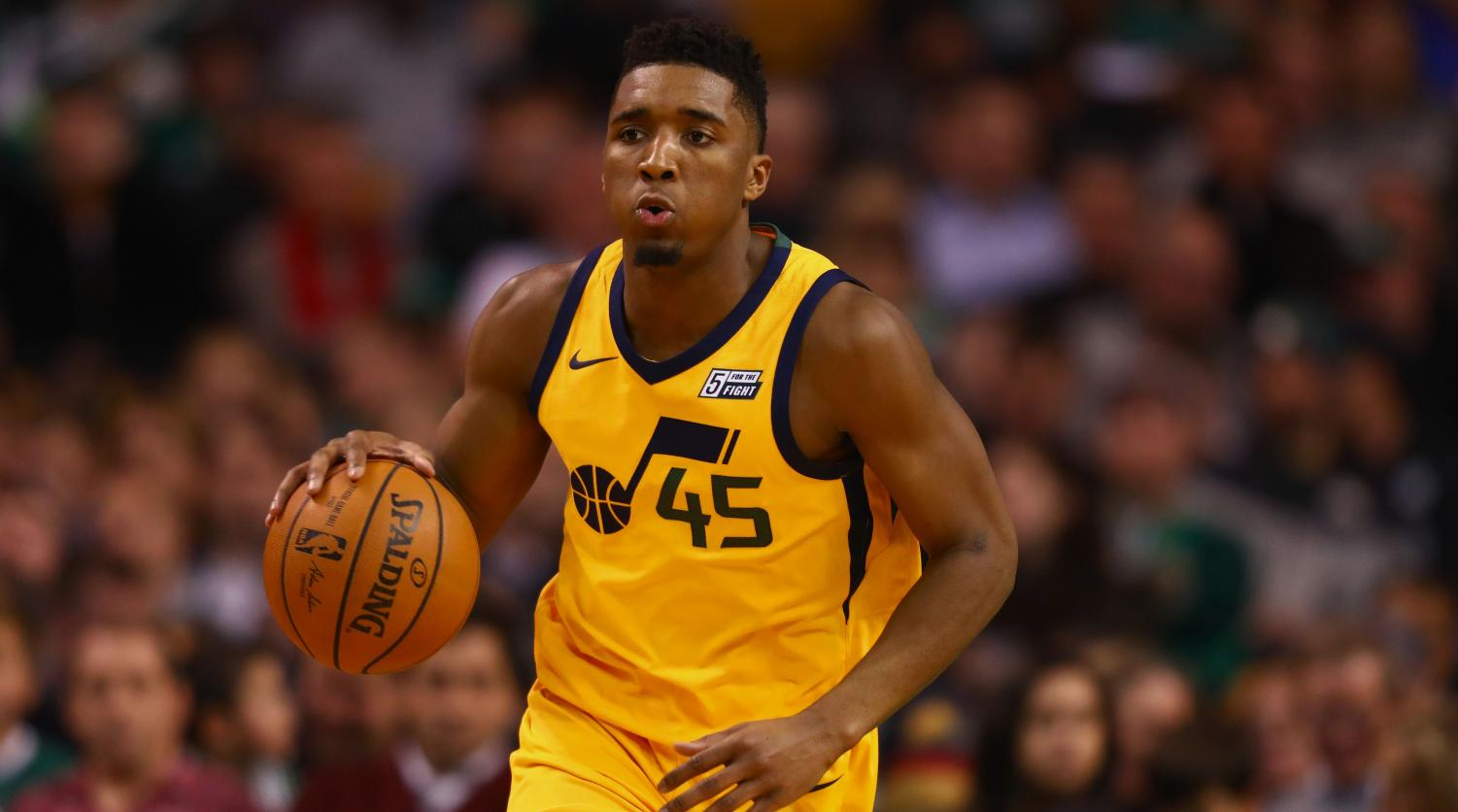 Utah Jazz Player, Donovan Mitchell, had a great season.