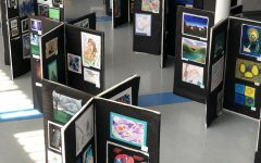 Yorktown Art Show on Display