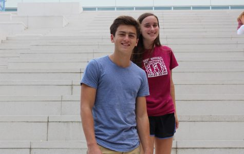 Aidan Stroup and Sofie Dalton