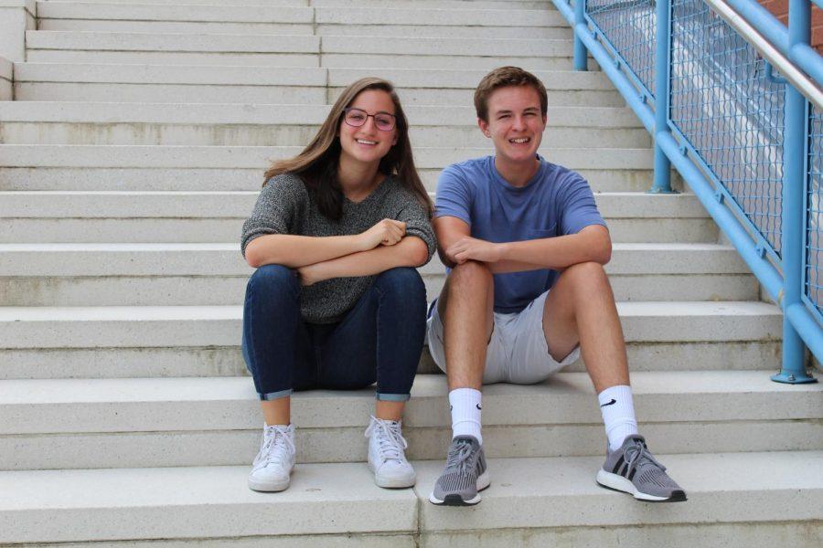Connor Smith and Nina Rutzen