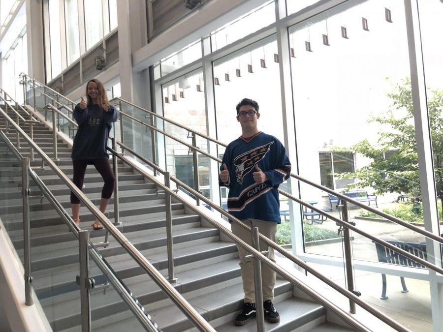 Eliza Howard and Charlie Schiavo