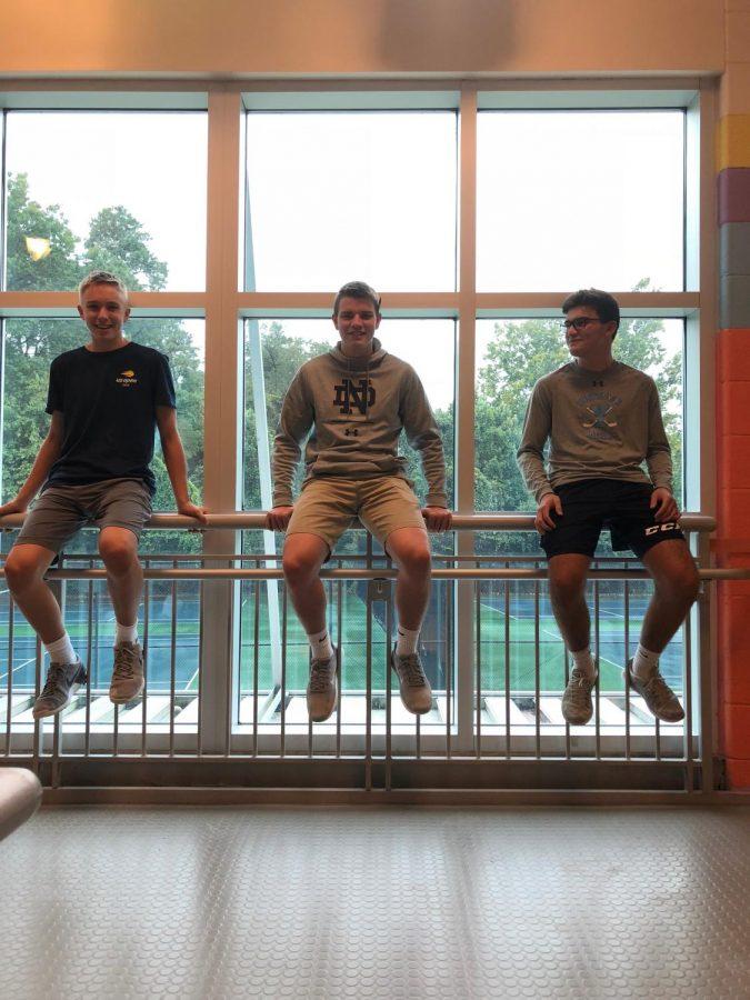 Joseph Ramos, Ryan Cole, and Ryan Van Kirk