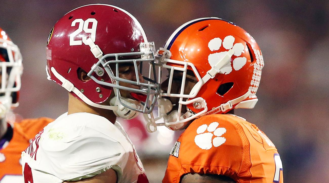 Clemson defeated Alabama in the National Championship 44-16.