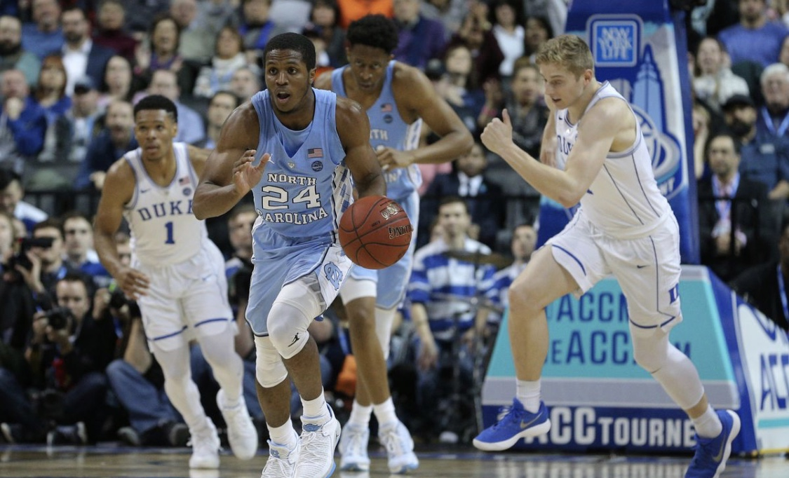 Duke vs. UNC is one of the most well known rivalries.