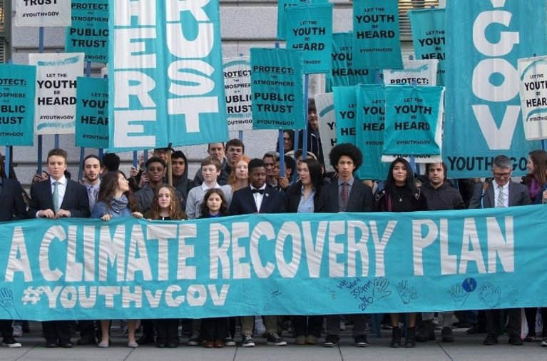 The plaintiffs in the case of Juliana vs. United States are fighting for climate change recovery