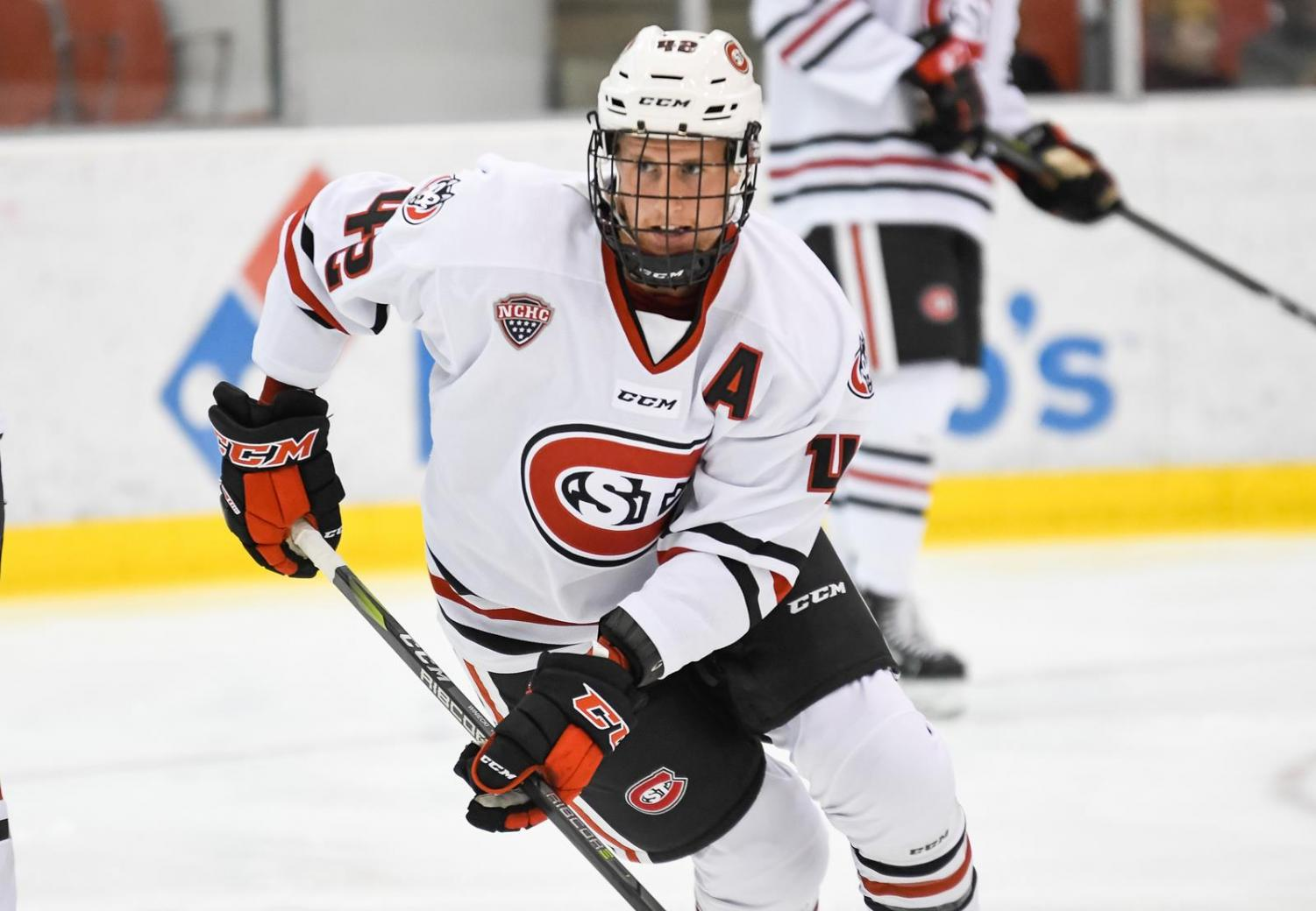St. Cloud State's hockey team has been on top of the rankings for most of the year.
