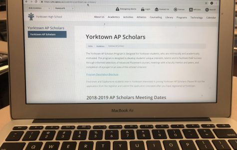 The Yorktown AP Scholars  program is outlined on our school website.