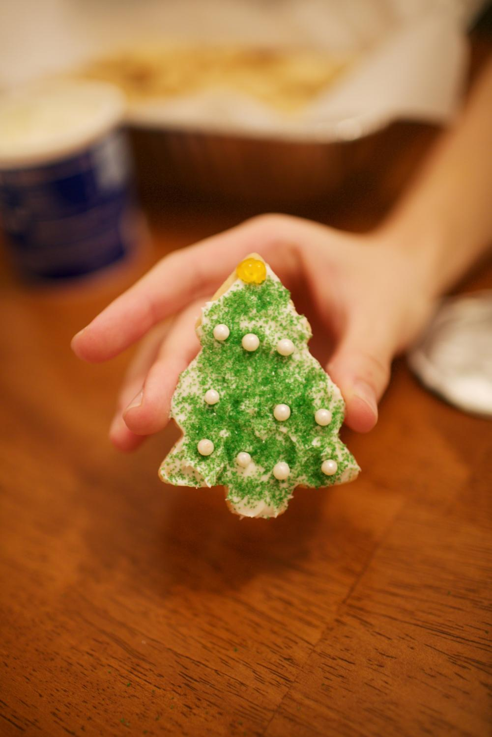 Festive cookies are a staple of the holiday season.