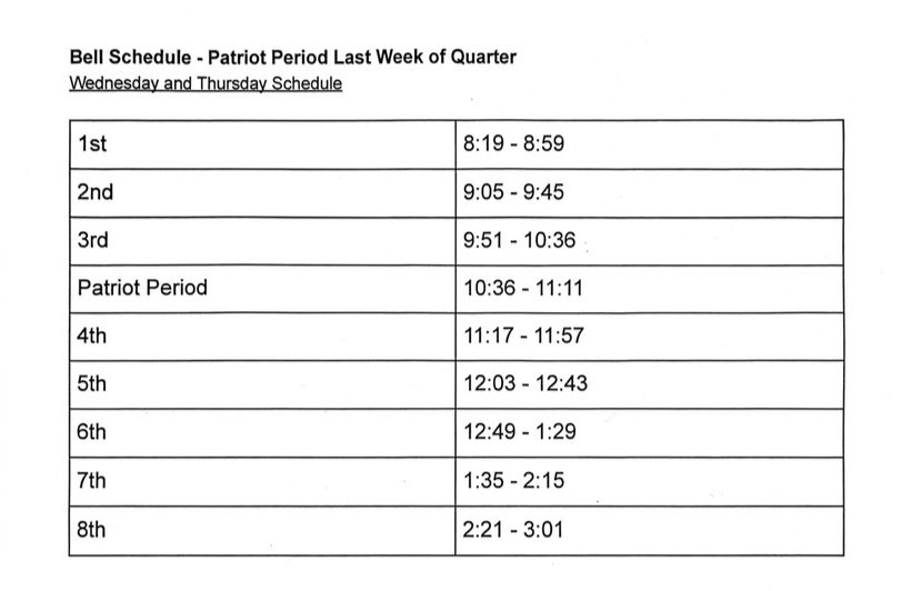 End+of+Quarter+Schedule+Revised