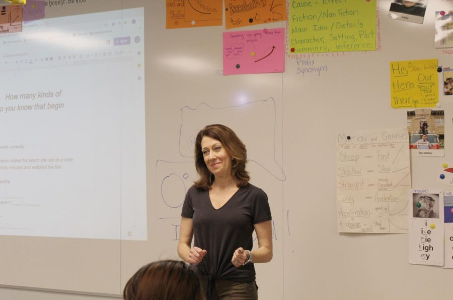 A Teacher for All: Springberg Chosen as Teacher of the Year