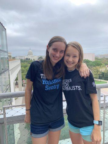 Sofie Dalton (left) and Lizzie Koumans (right)