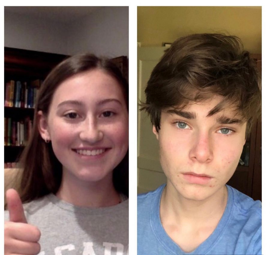 Whitney Critchfield (left) and Elijah Dale (right)