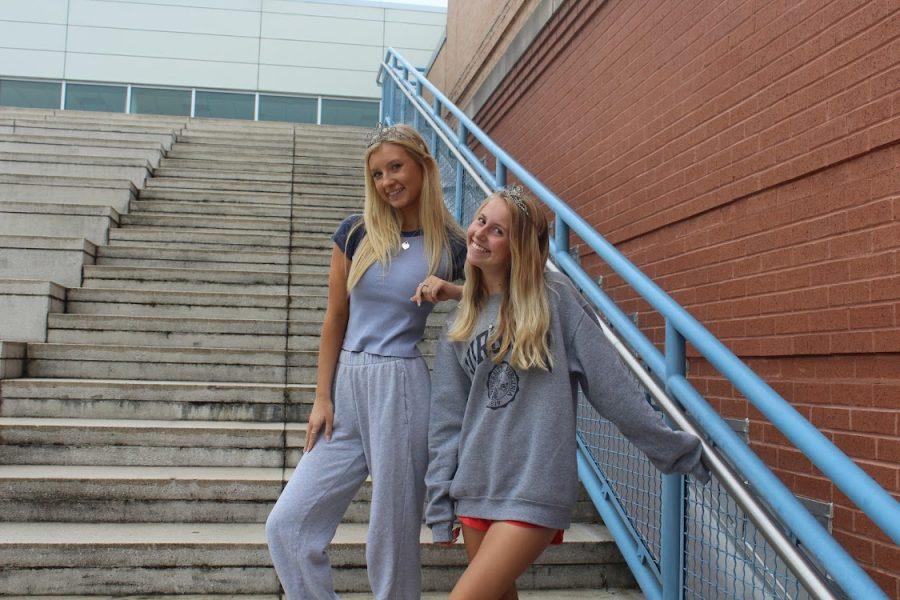 Ella McNamee and Lexi Olsen