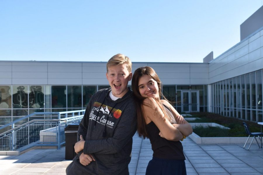Julia Teixeira and Matthew Wagner